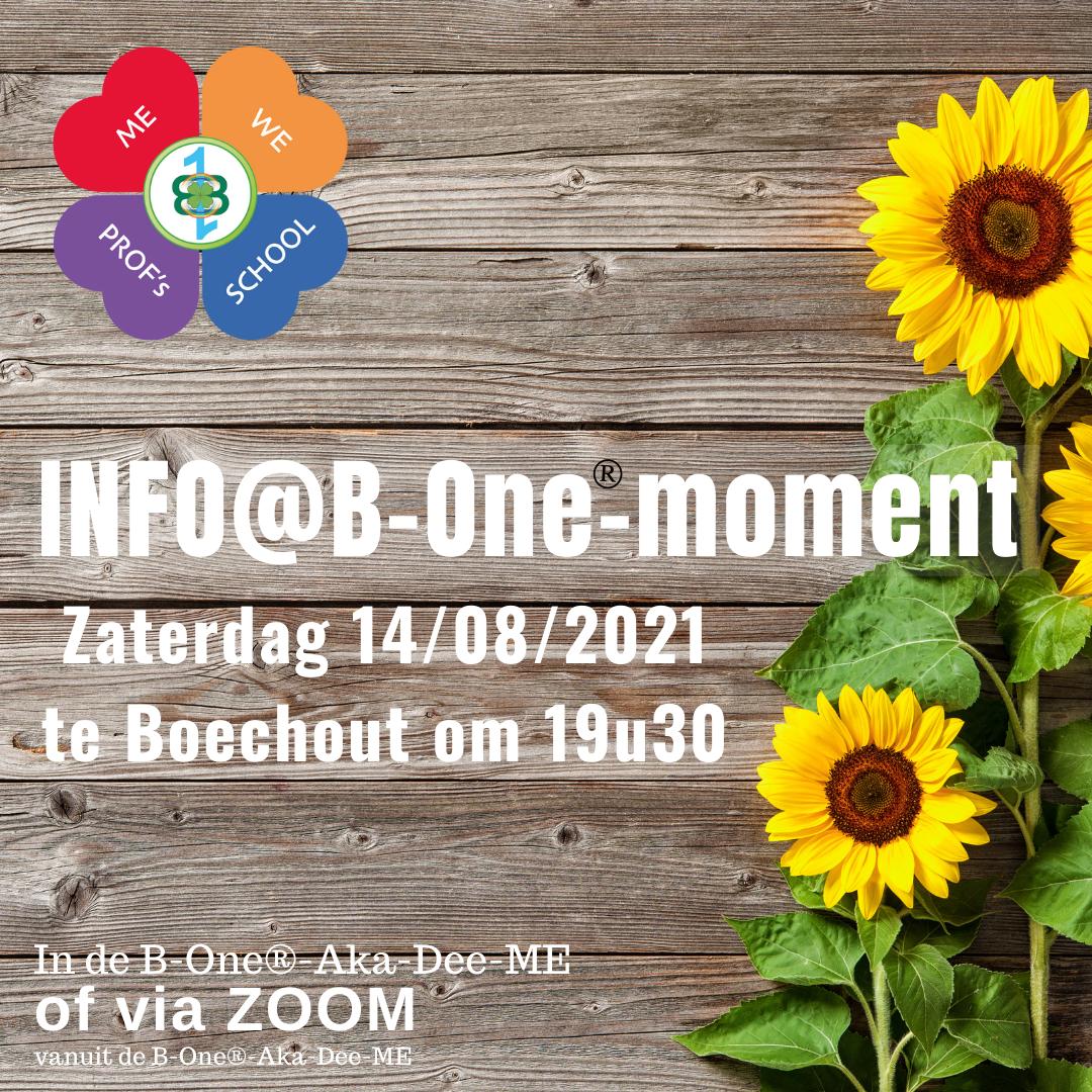 INFO@B-ONE-MOMENT