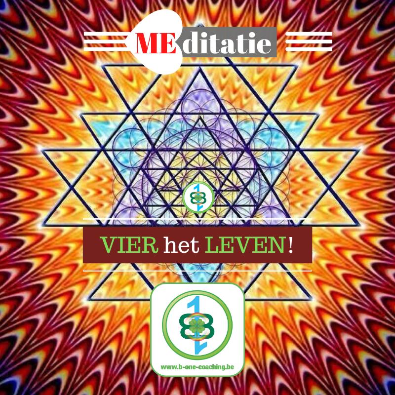 A/4 MEditatie: 'VIER het LEVEN! 4-4-4'